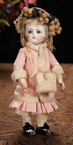 Wonderful Petite French Bisque Bebe, Size 5/0, by Rabery and Delphieu 5500/7500