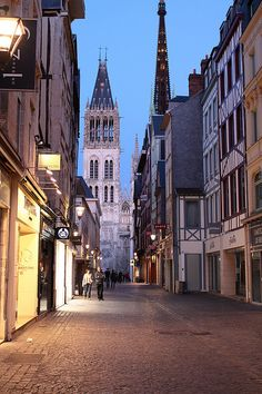 Day Three: We arrive in Rouen, France. Once one of the largest and most prosperous cities of medieval Europe. Admire the Medieval quarter with its half-timbered houses and Renaissance clock tower.
