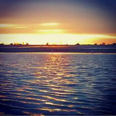 Cleethorpes beach on a winter's day #beach #sunset #tidal #tide #sun #sand #beautiful #water #lincolnshire #northsea #uk