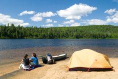 Camping en Mauricie : 15 campings de rêve pour planter sa tente au bord de l'eau - Tourisme Mauricie | Tourisme Mauricie