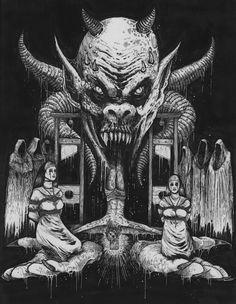 Arte Macabro por Mark Riddick (2da parte) - ElAfter.com