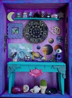 spiritswildandfree:  Tiny Display Room on We Heart It.