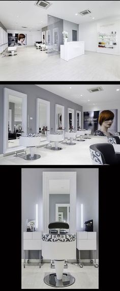 Hair Salon Capolavoro - Mantova (Italy) - Salon Design by Mauro Cimarosti - #SalonTrends