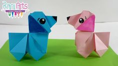 PERRO DE ORIGAMI - Paso a paso - DIY - ORIGAMI DOG Origami Dog, Diy Origami, Diy Paper, The Creator, Bikini, Youtube, Ideas, Origami Step By Step, Dogs