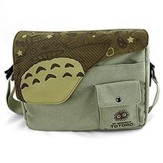 My Neighbour Totoro: Canvas Messenger Bag