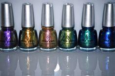 China Glaze Bohemian nail polishes