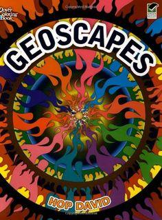 Geoscapes (Dover Design Coloring Books)