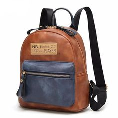 Brand Vintage Men Women Backpack College High Middle School Bags For Teenager Boy Girls Laptop Travel Backpacks Mochila Rucksack Colorful Backpacks, Vintage Backpacks, Chic Backpack, Fashion Backpack, Vintage Leather Backpack, College Bags, Luggage Bags, Travel Bag, School Bags