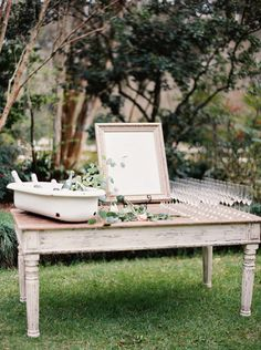 Photography: Erich McVey - erichmcvey.com  Read More: http://www.stylemepretty.com/2014/06/19/southern-garden-wedding-wrapped-in-elegance/