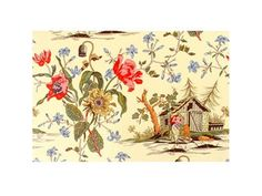 Brunschwig & Fils MA CABANE AU CANADA GOLD BR-79389.334 - Brunschwig & Fils - Bethpage, NY, BR-79389.334,Brunschwig & Fils,Print,Yellow,S,Up The Bolt,Animals,Multipurpose,France,Yes,Brunschwig & Fils,No,MA CABANE AU CANADA GOLD