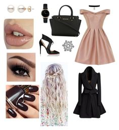 """""""Untitled #245"""" by jasmineedwards709 on Polyvore featuring Chi Chi, Christian Louboutin, MICHAEL Michael Kors and Freedom To Exist"""