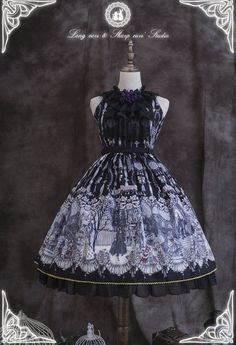 The Vampire Count's Dancing Party Lolita JSK Version I