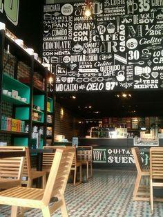 CIELITO Cafes, México City. Restaurant interior design by Ignacio Cadena & Héctor Esrawe