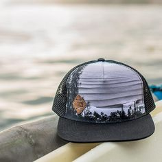 It's all about perspective. Our new Heights Hat features a photo of Backdoor and Pipeline shot from the hills above by our pal Mark McInnis. https://www.hippytree.com/shop/new-arrivals/heights-hat/black/ #surfandstone #apparel #headwear #truckerhat #surfing #menswear #wander #travel #outdoors
