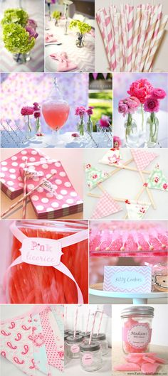 Baby Shower inspiration from www.FashionableHostess.com