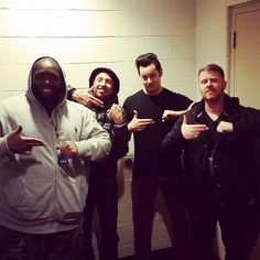 Killer Mike, Zach de la Rocha, Jack White, El-P.