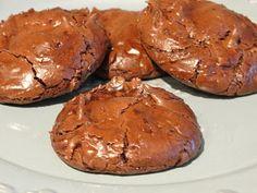Flourless Chocolate Fudge Cookies - 2 Weight Watchers pp