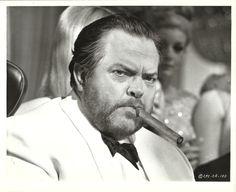 """ORSON WELLES in """"Casino Royale"""" Original Photo Portrait 1967"""