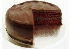 #torta #cioccolato e #vino #tintilia con #glassa