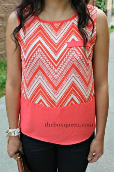Oh I love this shirt color and it has an awesome pattern.  So fun!  I would love something like this in a fix.