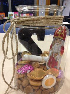 Leuke decoratie voor Sinterklaas gemaakt