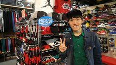 【新宿2号店】 2014年4月19日 季節先取りのジョーダンキャップ非常にお似合いでした(^^)GWにも遊びに来て下さいね!