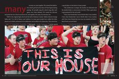 Shawnee Mission North High School yearbook pages 4-5