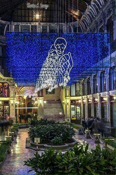 Buona notte dalla bellissima Galleria Subalpina!  (Foto di Massimo Scavuzzo)