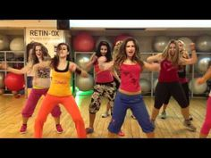 """Zumba with Shlomit S -African dance-""""Zoomer"""" - What a fun, sassy group! I'd love to join their party. :)"""