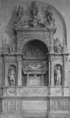 Andrea Sansovino - Monumenti funebri dei cardinali Ascanio Sforza e Girolamo Basso Della Rovere - 1505-1507 - Basilica di Santa Maria del Popolo - Roma