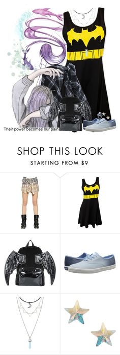 """Wanna Be A Rockstar"" by the-l0st-girl ❤ liked on Polyvore featuring Faith Connexion, Iron Fist, Keds, Orelia and Kill Star"
