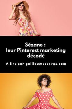 Comment Sézane utilise Pinterest pour son business ? Je décode le Pinterest marketing de la 1ère marque de mode française née en ligne. Chaque mois, je décortique toutes les facettes du Pinterest marketing des plus belles marques françaises. #sezane #pinterestmarketing #marketingdigital