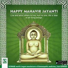 Dr. Willma #Schwabeindia wishes you all a happy #MahavirJayanti .