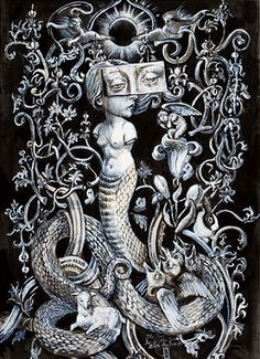 Lilith and the serpent
