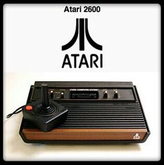 Atari 2600...a videogaming staple.  :-)