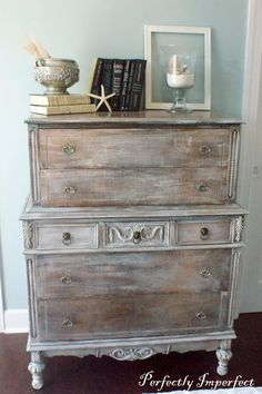 painted antique chest | Perfectly Imperfect™ Blog