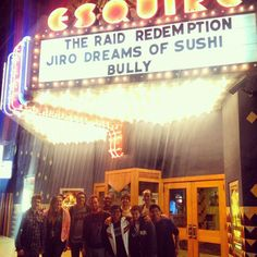 Jiro Dreams of Sushi team outing