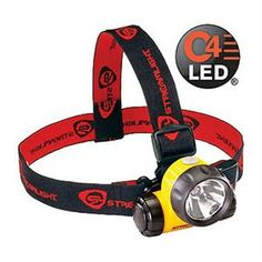 Watch our video! The Argo features state-of-the-art C4® LED technology for the long life and reliability of an LED with the brightness and range of a conventional bulb. It offers three digitally controlled brightness levels, battery indicator, a durable compact case, and rubber & elastic head straps for use with hard hats. - C4® LED is 2X brighter than a Super high-flux LED - Three (3) digitally controlled brightness levels: - High – Up to 1,300 candela (peak beam intensity)...
