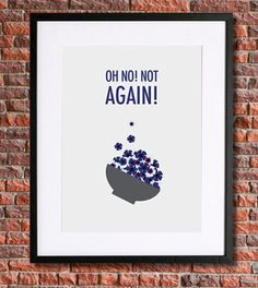 Hitchhiker's Guide to the Galaxy Poster Art | Instant Download Printable Art | Douglas Adams | Oh No! Not Again! | Science Fiction, Sci Fi by pennyPRINTABLE on Etsy https://www.etsy.com/listing/193045870/hitchhikers-guide-to-the-galaxy-poster