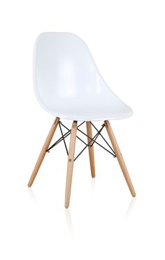 Elsen Contemporary Dining Chair White