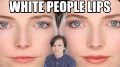Thin Lips, White People, Hair Beauty, Make Up, Youtube, Big, Makeup, Beauty Makeup