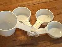 Convertisseur de mesures en cuisine - Pour convertir les unités de mesure de poids, volumes et températures