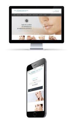Dra. Humildad Ruiz by NETBRAIN  La clínica de la Dra. Humildad Ruiz, ofrece sus servicios en Logroño desde 1987.  Se ha realizado un diseño y desarrollo de página web a medida, con gestor de contenidos para su administración. Con diseño responsive para adaptación a dispositivos móviles.  Desarrollo web a medida y responsive.