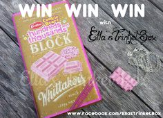 New Giveaway: Hundreds & Thousands Chocolate Block with matching handmade necklace!