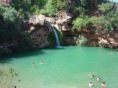 Cascata do Pego do Inferno - Santo Estêvão - Tavira - Distrito de Faro, Algarve, Portugal