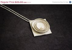 50% OFF SALE Minimalist leather pendant with a door julishland