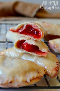Air Fryer Cherry Hand Pies - air fryer recipes breakfast The Effective Pictures We Offer You About cheesecake r - Air Fryer Recipes Breakfast, Air Fryer Oven Recipes, Air Fryer Dinner Recipes, Air Fry Recipes, Cooking Recipes, Cooking Food, Cooking Tips, Easy Cooking, Vegetarian Cooking