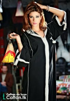 Robe marocaine on pinterest caftan marocain caftan 2014 for Fil de couture