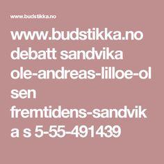 www.budstikka.no debatt sandvika ole-andreas-lilloe-olsen fremtidens-sandvika s 5-55-491439
