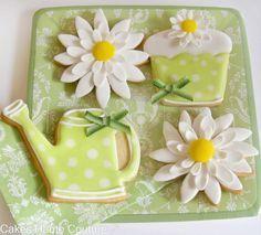 watering can sugar cookies - Google Search